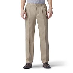 Men's Lee Total Freedom Relaxed-Fit Comfort Stretch Pleated Pants
