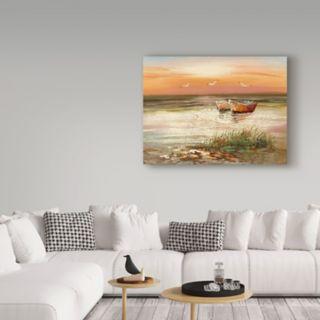 Trademark Fine Art Florida Sunset Canvas Wall Art