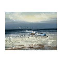 Trademark Fine Art Low Tide Canvas Wall Art