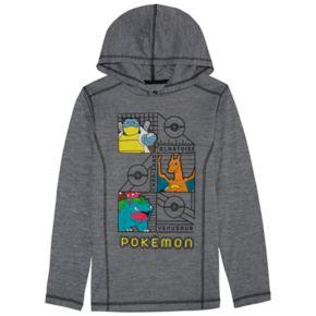 Boys 8-20 Pokemon Hoodie Tee