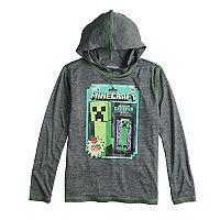 Boys 8-20 Minecraft Hoodie