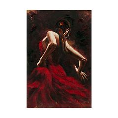 Trademark Fine Art Flamenco Dancer Canvas Wall Art