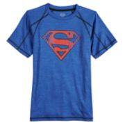 Boys 8-20 Superman Performance Tee