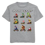 Boys 8-20 Super Mario Bros. Team Lineup Tee