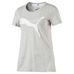 Women's PUMA Athletic Cat Logo Graphic Tee