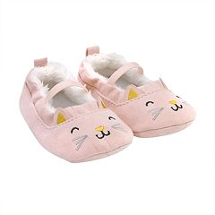 Baby Girl Carter's Kitty Cat Mary Jane Crib Shoes