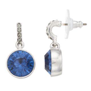 Simply Vera Vera Wang Blue Simulated Crystal Drop Earrings