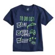 "Boys 8-20 ""To Do List"" Tee"