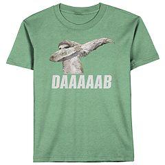 Boys 8-20 Sloth Dab Tee