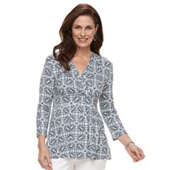 Women's Croft & Barrow® Surplice Empire Top