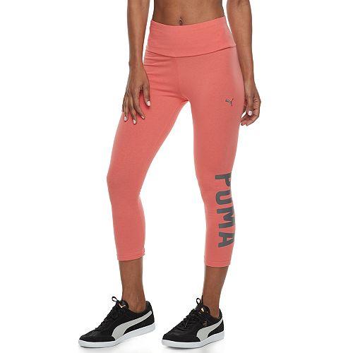 1d0f3fb9954548 Women's PUMA Athletic Graphic Capri Leggings