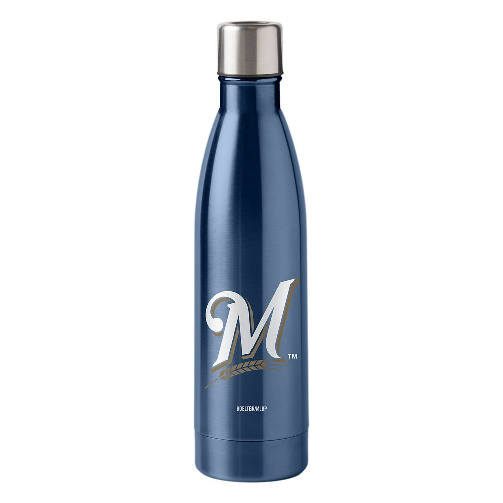 Boelter Milwaukee Brewers 18-Ounce Water Bottle