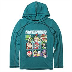 Boys 8-20 Super Mario Bros. Hooded Tee