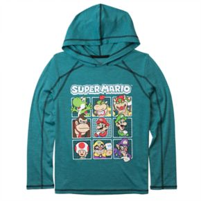 Boys 8-20 Super Mario Bros. Hooded Tee