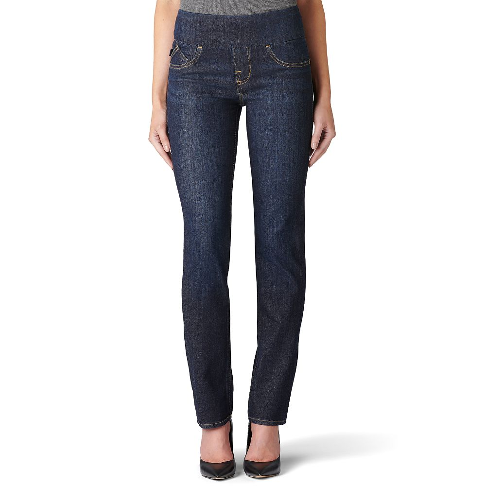 Women's Rock & Republic™ Fever Midrise Pull-On Straight Leg Jeans