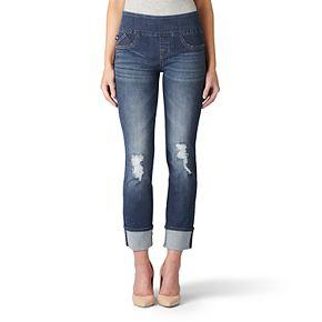 Women's' Rock & Republic® Fever Midrise Pull-On Straight Leg Jeans