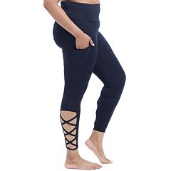 Plus Size Marika Curves Strappy Ankle Leggings