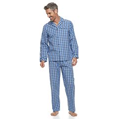 Big & Tall Residence Poplin Pajama Set