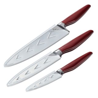 Ayesha Curry Home Collection Japanese Steel 3-piece Cooking Knife Set