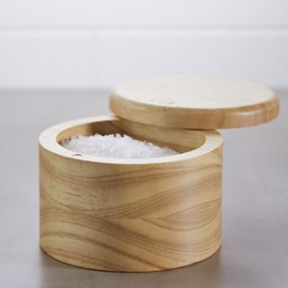 Ayesha Curry Pantryware Parawood Salt Box