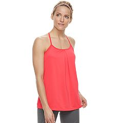 Women's Tek Gear® Performance Built-In Bra Strappy Tank