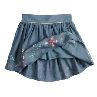Girls 4-10 SONOMA Good for Life® Glittery Print Skort