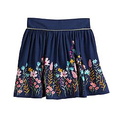 Girls 4-10 SONOMA Good for Life® Glittery Print Skort