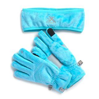 Girls 4-16 ZeroXposur Athena Headband & Tech Touch Gloves Set
