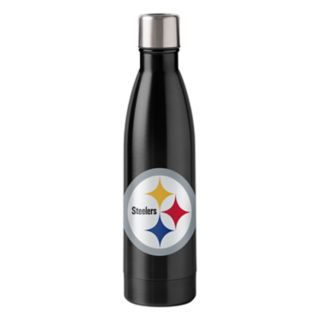 Boelter Pittsburgh Steelers 18-Ounce Stainless Steel Water Bottle