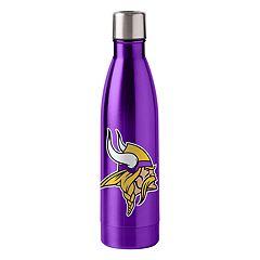 Boelter Minnesota Vikings 18-Ounce Stainless Steel Water Bottle