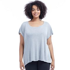 Plus Size Balance Collection Callie Slub Tee