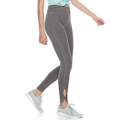 Juniors' SO® Side-Slit Yoga Leggings