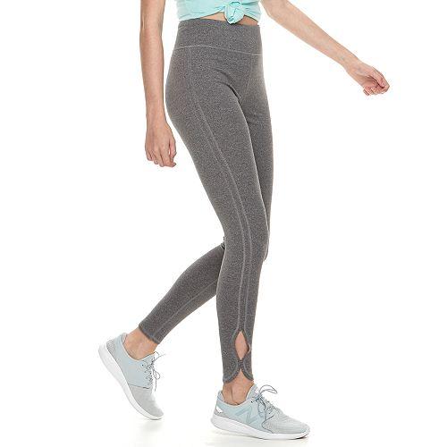 Juniors' SO® Side-Slit Yoga Leggings
