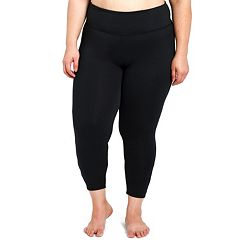 Plus Size Balance Collection Talia Strappy Capri Leggings