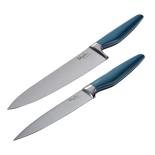 Ayesha Curry Home Collection Japanese Steel 2-piece Cooking Knife Set