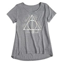 Girls 7-16 Harry Potter 'The Wand The Stone The Cloak' Symbol Graphic Tee