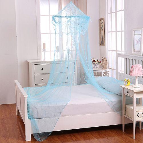 Casablanca Kids Raisinette Sheer Collapsible Hoop Bed Canopy