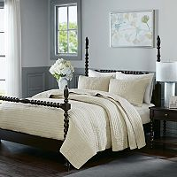 Madison Park Signature Serene 3 pc Cotton Coverlet Set