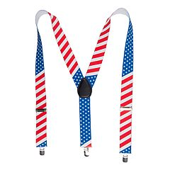 Men's Wembley American Flag Suspenders