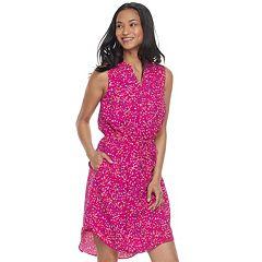 Petite Apt. 9® Drawstring Shirtdress