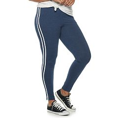 Juniors' Plus Size SO® Side Stripe Leggings