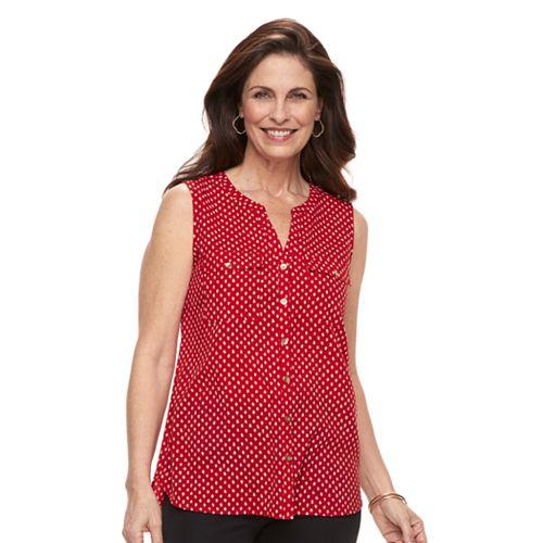 b20a9868e05abd Women s Croft   Barrow® Sleeveless Henley Shirt