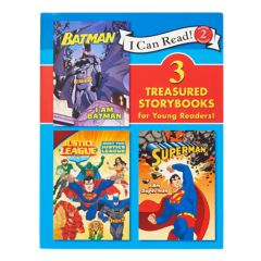 Kohl's Cares 3 in 1: I Can Read! Justice League Collection