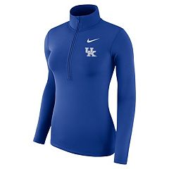 Women's Nike Kentucky Wildcats 1/2-Zip Dri-FIT Pullover Top