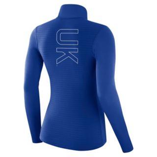 Women's Nike Kentucky Wildcats 1/2-Zip Dri-FIT Pullover Top