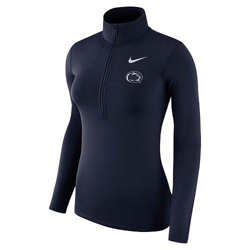 Women's Nike Penn State Nittany Lions Dri-FIT Half-Zip Top