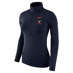 Women's Nike Virginia Cavaliers Dri-FIT Half-Zip Top