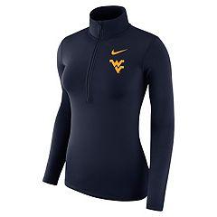 Women's Nike West Virginia Mountaineers Dri-FIT Half-Zip Top