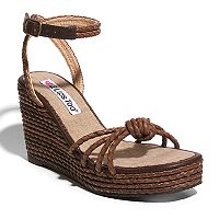 2 Lips Too Too Roz Women's Wedge Sandals