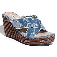 2 Lips Too Too Rosa Women's Wedge Sandals